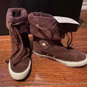 Brand new unique Converse ankle boots